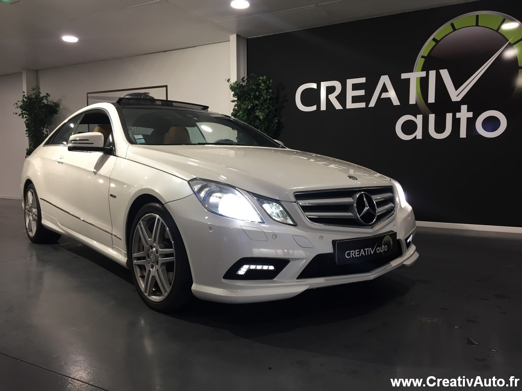 Mercedes-Benz E 350 CDI COUPE PACK AMG 7G-TRONIC
