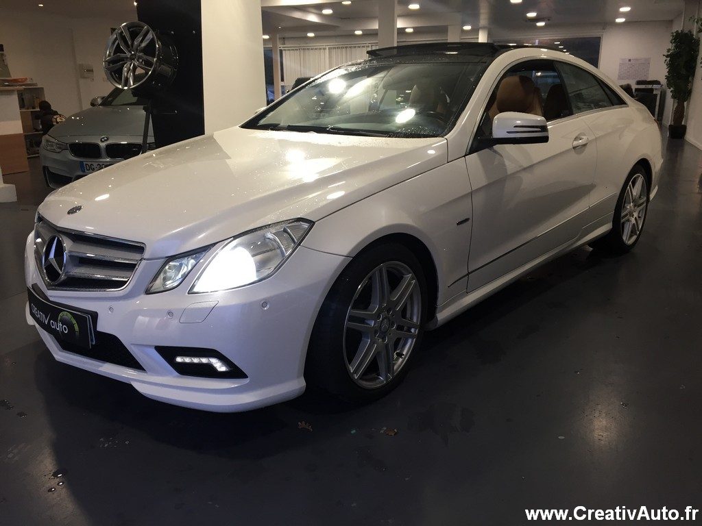 Mercedes-Benz E 350 CDI COUPE PACK AMG 7G-TRONIC / 2010 / 122150 km / Diesel / 22990 €